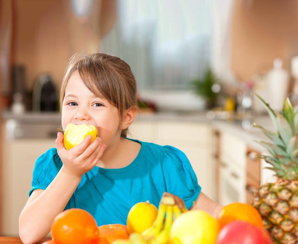 Alimentação saudável e desenvolvimento infantil